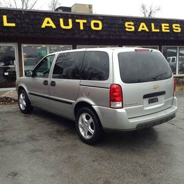 Chevrolet Uplander For Sale In Fort Wayne In