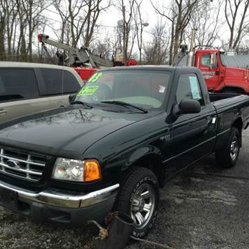 2003 Ford Ranger for sale at BELL AUTO & TRUCK SALES in Fort Wayne IN