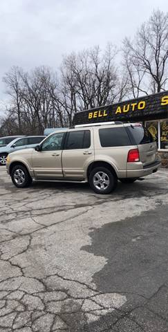 2005 Ford Explorer for sale at BELL AUTO & TRUCK SALES in Fort Wayne IN