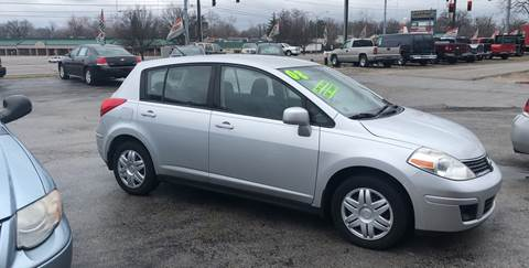 2008 Nissan Versa for sale at BELL AUTO & TRUCK SALES in Fort Wayne IN