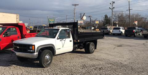 1999 Chevrolet C/K 3500 Series for sale at BELL AUTO & TRUCK SALES in Fort Wayne IN