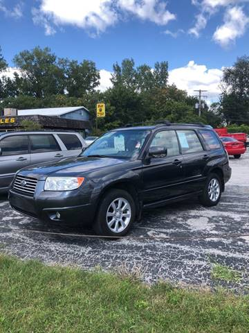 2008 Subaru Forester for sale at BELL AUTO & TRUCK SALES in Fort Wayne IN