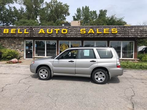 2007 Subaru Forester for sale at BELL AUTO & TRUCK SALES in Fort Wayne IN