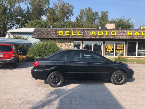 2008 Toyota Corolla for sale at BELL AUTO & TRUCK SALES in Fort Wayne IN
