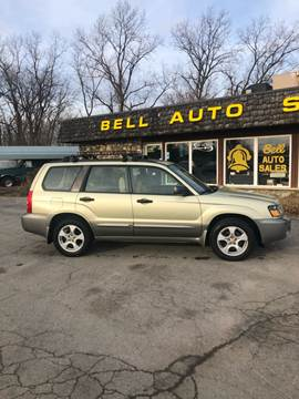 2004 Subaru Forester for sale at BELL AUTO & TRUCK SALES in Fort Wayne IN