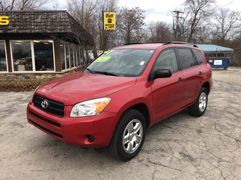 2007 Toyota RAV4 for sale at BELL AUTO & TRUCK SALES in Fort Wayne IN