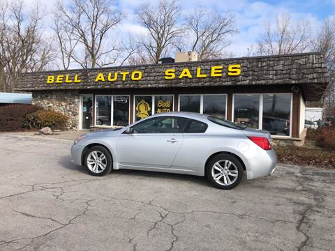 2012 Nissan Altima for sale at BELL AUTO & TRUCK SALES in Fort Wayne IN