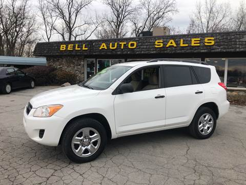 2010 Toyota RAV4 for sale at BELL AUTO & TRUCK SALES in Fort Wayne IN