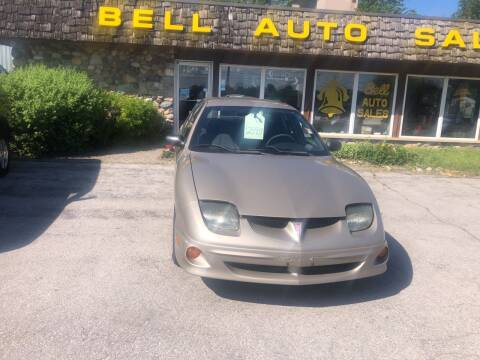 2001 Pontiac Sunfire for sale at BELL AUTO & TRUCK SALES in Fort Wayne IN