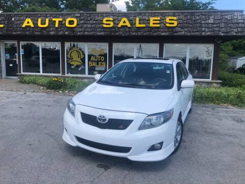 2009 Toyota Corolla for sale at BELL AUTO & TRUCK SALES in Fort Wayne IN