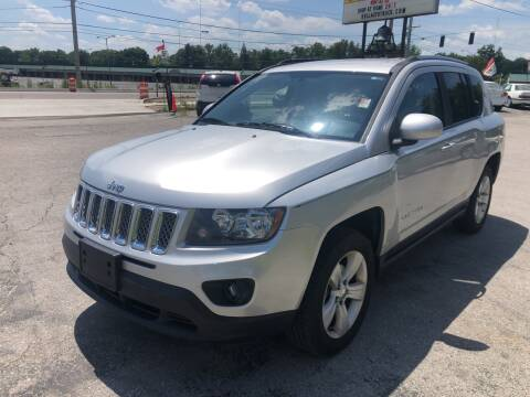 2014 Jeep Compass for sale at BELL AUTO & TRUCK SALES in Fort Wayne IN