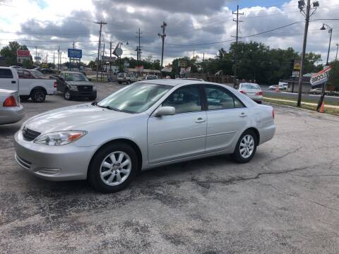 2002 Toyota Camry for sale at BELL AUTO & TRUCK SALES in Fort Wayne IN