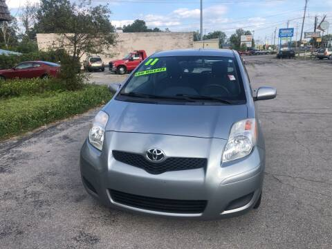 2011 Toyota Yaris for sale at BELL AUTO & TRUCK SALES in Fort Wayne IN