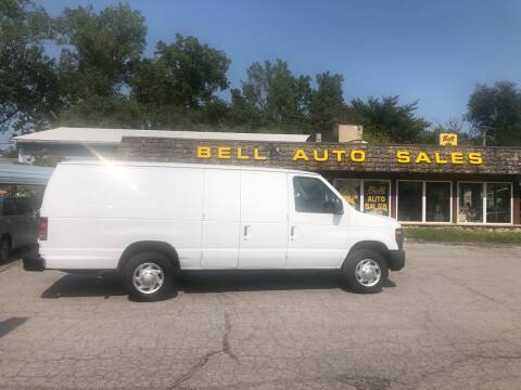 2012 Ford E-Series Cargo for sale at BELL AUTO & TRUCK SALES in Fort Wayne IN