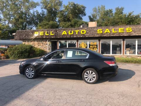 2012 Honda Accord for sale at BELL AUTO & TRUCK SALES in Fort Wayne IN