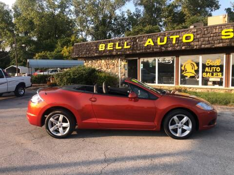 2009 Mitsubishi Eclipse Spyder for sale at BELL AUTO & TRUCK SALES in Fort Wayne IN