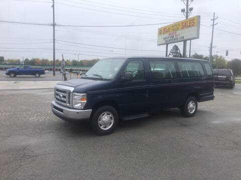 2011 Ford E-Series Wagon for sale at BELL AUTO & TRUCK SALES in Fort Wayne IN