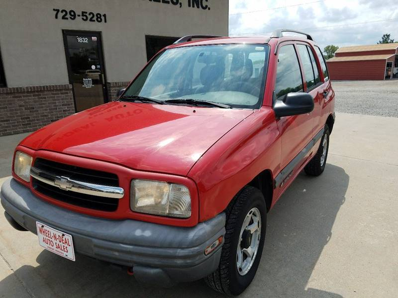 2000 Chevrolet Tracker 4dr 4WD SUV - Fairbury NE