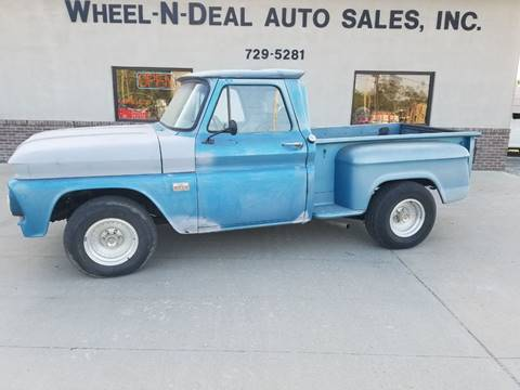 1966 Chevrolet C/K 10 Series for sale at Wheel - N - Deal Auto Sales Inc in Fairbury NE