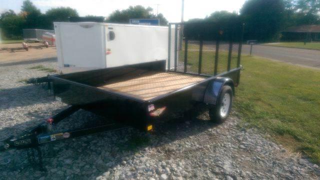2014 H&H Trailer L.L.C. US 10 1    8'x10' 8'x10' Steel solid side ramp gate flat bed - Fairbury NE