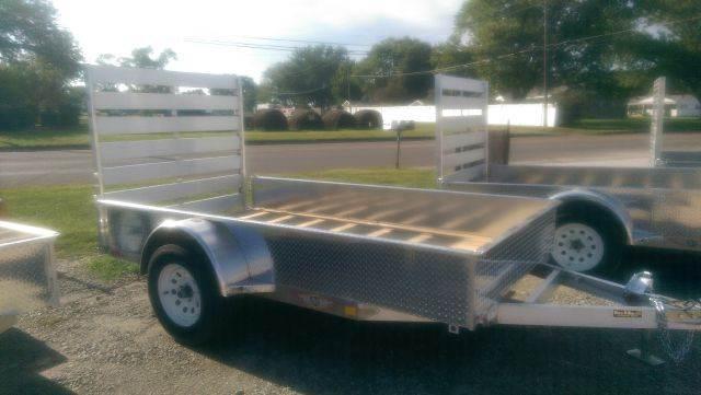 2014 H&H A1 10 1   8'x10' 8'X10' Solid Side Aluminum Ramp Gate - Fairbury NE