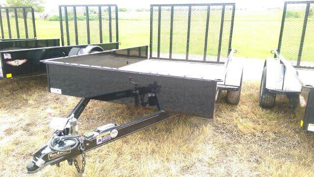 2015 H&H US 10 1    5.5'x10' 5.5'X10' Solid side utility rampgate - Fairbury NE