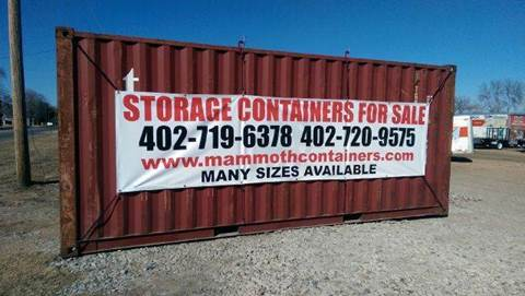 Shipping Container for sale at Wheel - N - Deal Auto Sales Inc in Fairbury NE