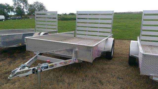 2014 H&H A1 10 1    8'X10' Solid Side Aluminum Ramp Gate - Fairbury NE