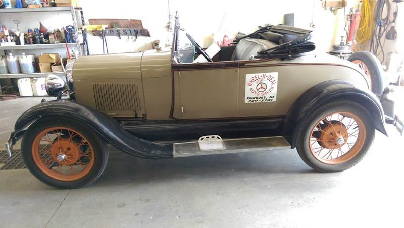1928 Ford Model A for sale at Wheel - N - Deal Auto Sales Inc in Fairbury NE