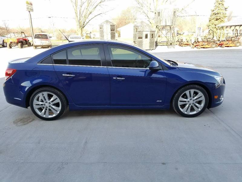 2012 Chevrolet Cruze LTZ 4dr Sedan w/1LZ - Fairbury NE