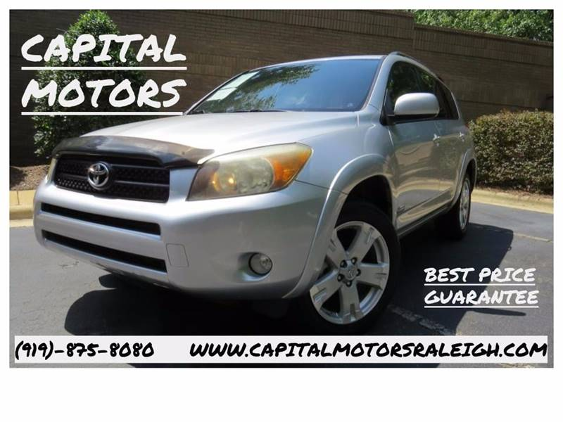 2006 Toyota Rav4 Sport 4dr Suv 4wd In Raleigh Nc Capital