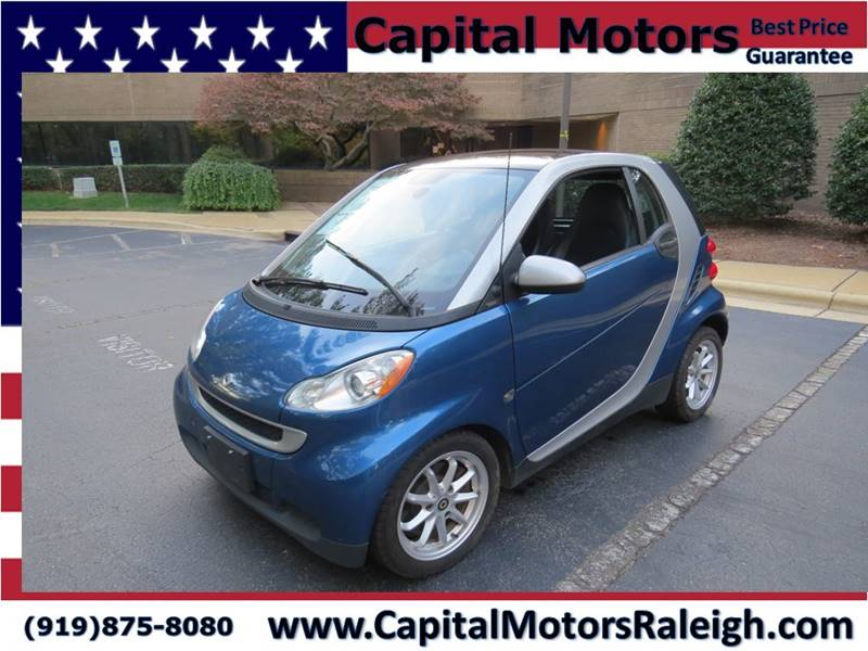 2009 Smart Fortwo Pure 2dr Hatchback In Raleigh Nc