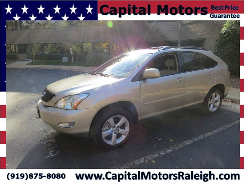 Lexus Rx AWD Dr SUV In Raleigh NC Capital Motors - Lexus capital