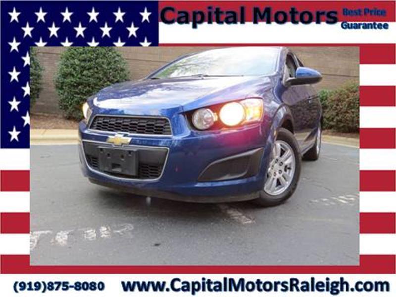 2013 Chevrolet Sonic Lt Auto 4dr Sedan In Raleigh Nc