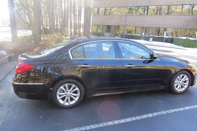 2013 Hyundai Genesis 3 8l 4dr Sedan In Raleigh Nc
