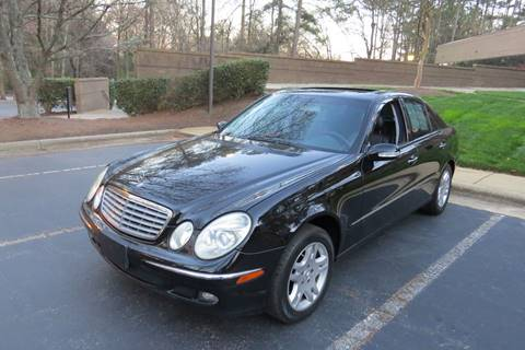 2005 mercedes benz e class for sale in north carolina for Mercedes benz raleigh north carolina