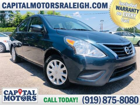2016 Nissan Versa for sale at Capital Motors in Raleigh NC