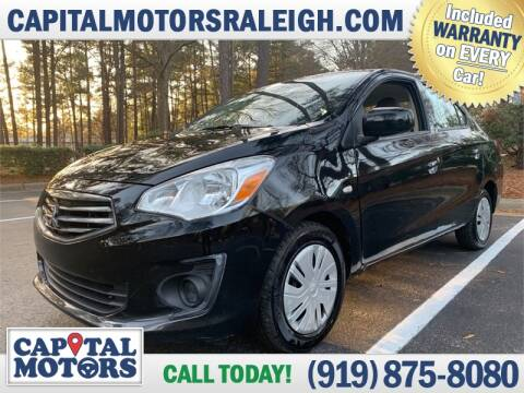 2017 Mitsubishi Mirage G4 for sale at Capital Motors in Raleigh NC