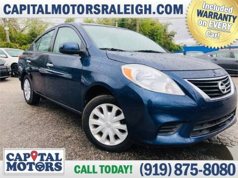 2014 Nissan Versa for sale at Capital Motors in Raleigh NC