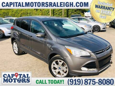 2013 Ford Escape for sale at Capital Motors in Raleigh NC