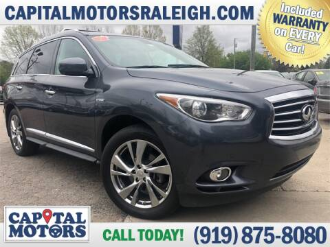2014 Infiniti QX60 Hybrid for sale at Capital Motors in Raleigh NC