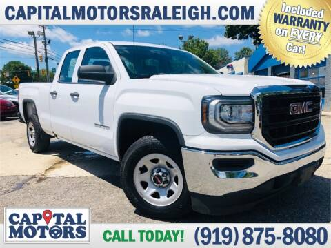 2016 GMC Sierra 1500 for sale at Capital Motors in Raleigh NC