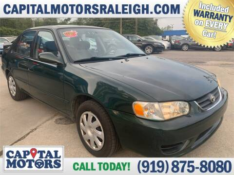 2002 Toyota Corolla for sale at Capital Motors in Raleigh NC