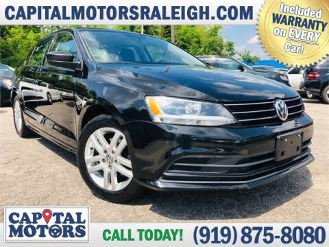 2015 Volkswagen Jetta for sale at Capital Motors in Raleigh NC