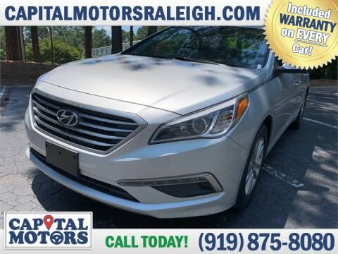 2015 Hyundai Sonata for sale at Capital Motors in Raleigh NC