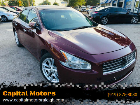 2010 Nissan Maxima for sale at Capital Motors in Raleigh NC