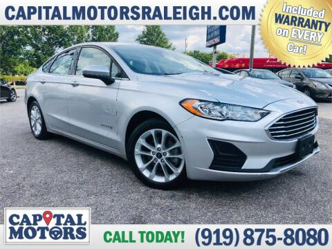 2019 Ford Fusion Hybrid for sale at Capital Motors in Raleigh NC