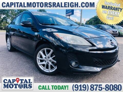 2012 Mazda MAZDA3 for sale at Capital Motors in Raleigh NC