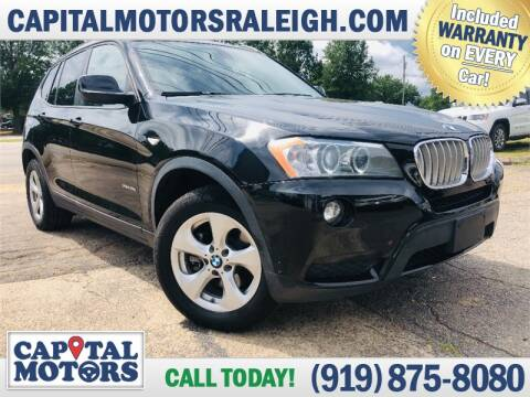 2011 BMW X3 for sale at Capital Motors in Raleigh NC
