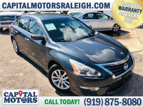2013 Nissan Altima for sale at Capital Motors in Raleigh NC